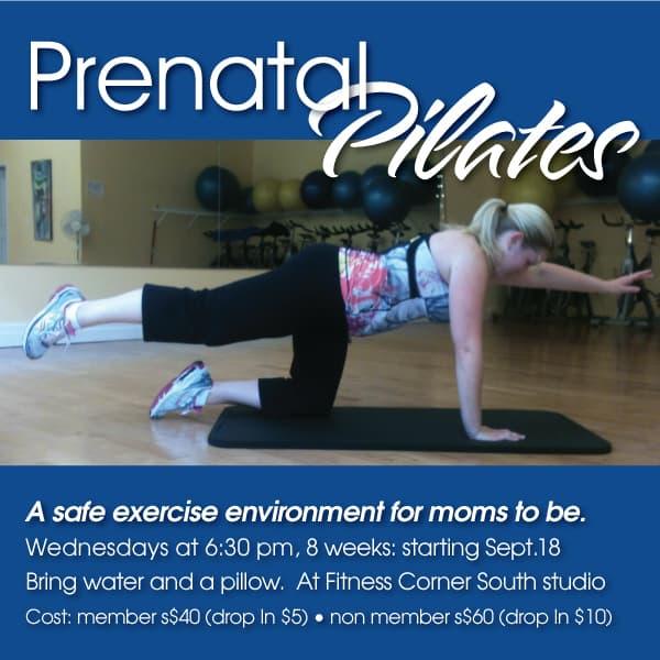Prenatal Pilates Fitness Corner
