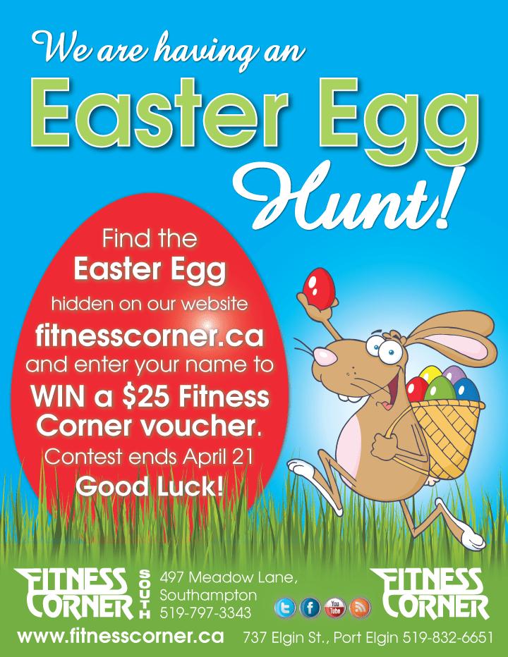 Easter Egg Hunt - Fitness Corner