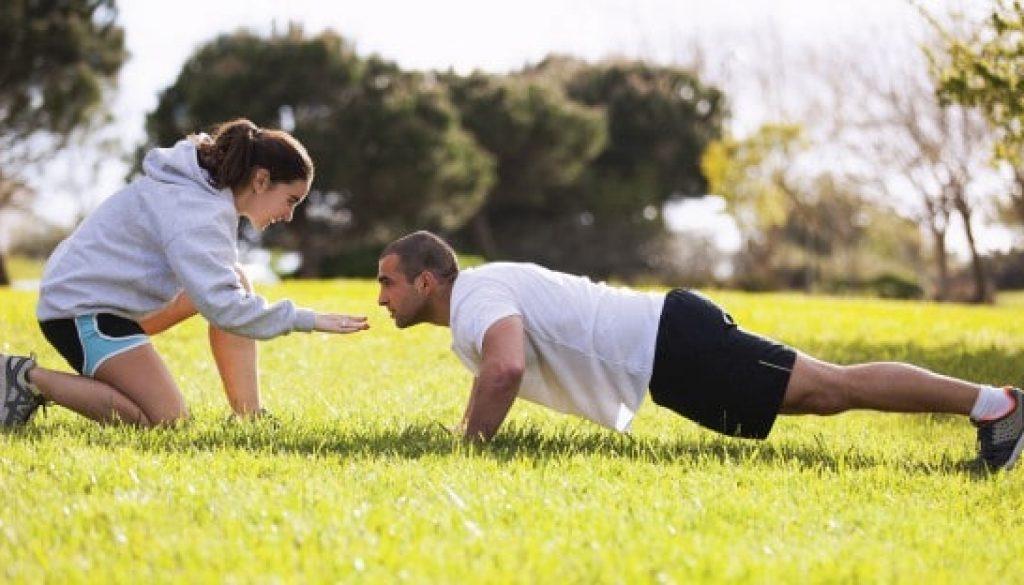 Fitness Corner plank