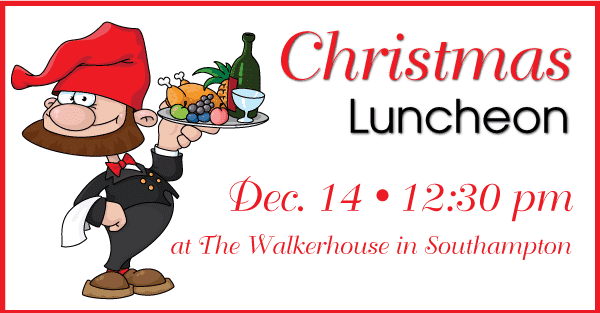 Please Join us for a Casual Christmas Luncheon.