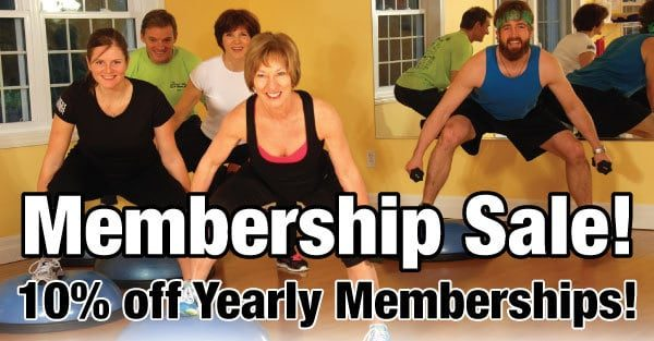 memmbership sale fitness corner port elgin and southampton