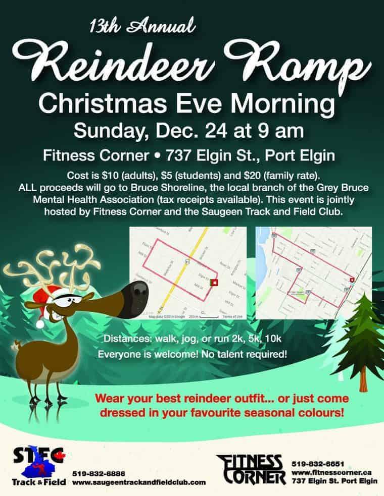 13th Annual Reindeer Romp!