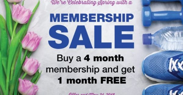 5 month membership sale fitness corner