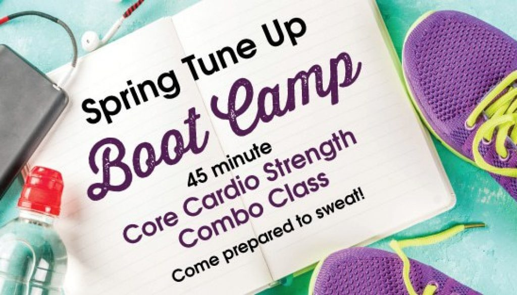 Spring Boot camp fitness Corner