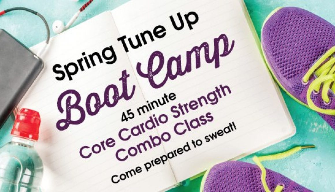 Spring Boot camp fitness Corner