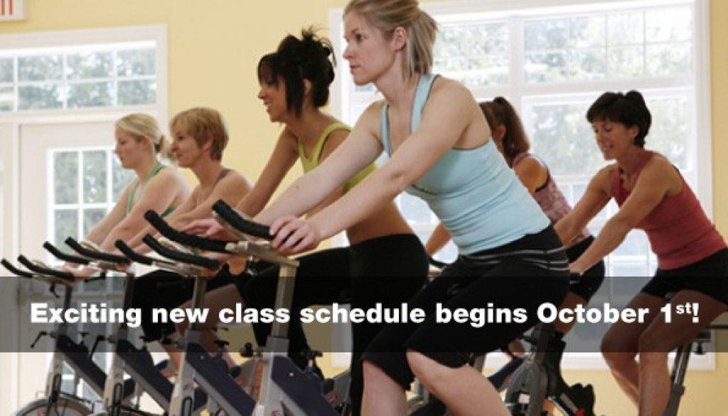 New-class-schedule